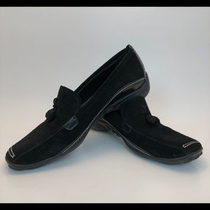 Sesto Meucci | Black Suede Loafers